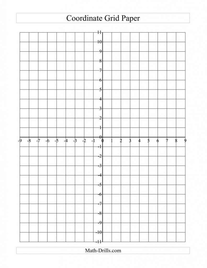 Coordinate Grid Paper (A) | Printable Sudoku Graph Paper