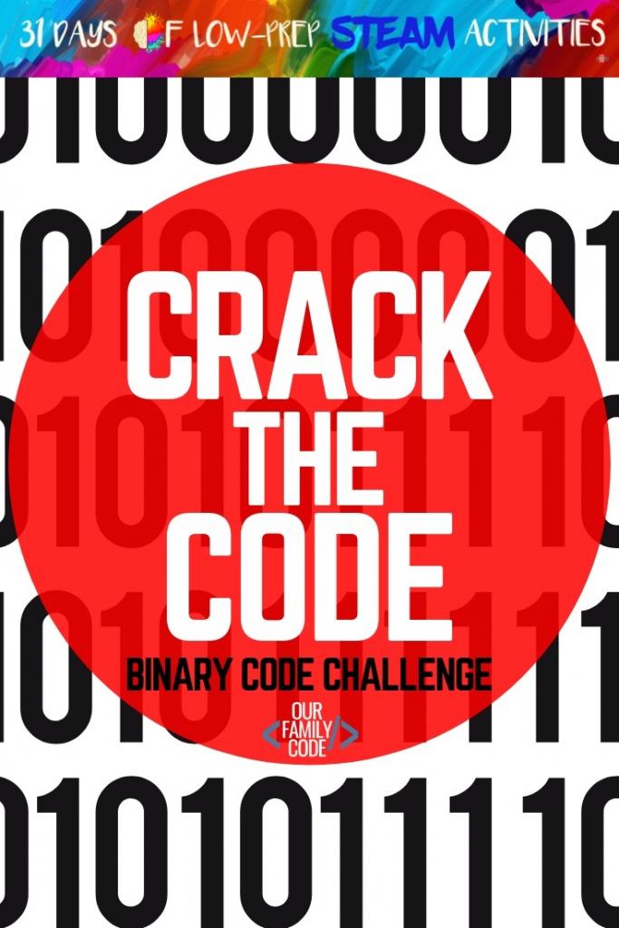 Crack The Code - Binary Code 5-Bit Challenge | Printable Binary Sudoku