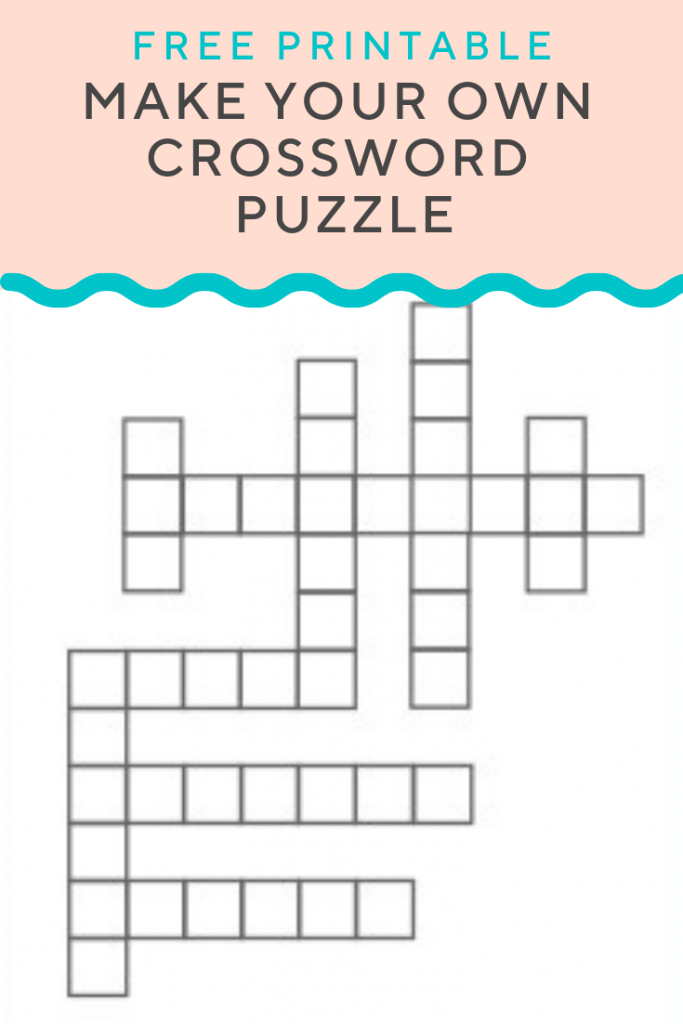 Crossword Puzzle Generator | Create And Print Fully Customizable | Free Printable Sudoku Splash Zone