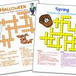 Crossword Puzzle Maker | World Famous From The Teacher's Corner | Printable Sudoku Teacher's Corner