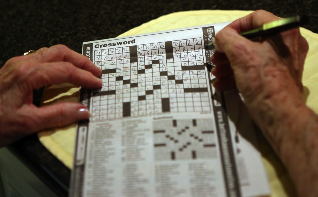 Crossword Puzzle Offers Peace In A Noisy World - South Southwest | Printable Sudoku Chicago Tribune