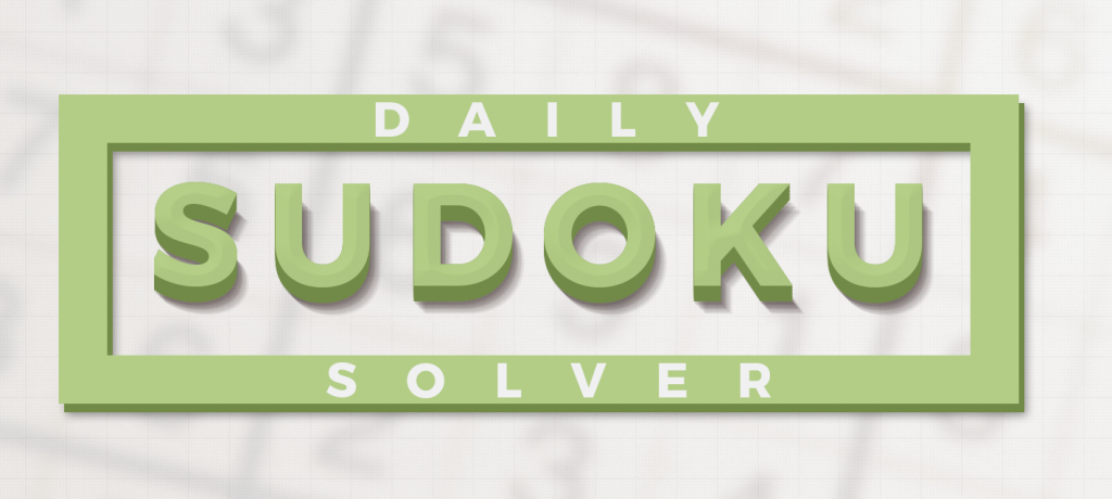 Daily Crossword Solver | Printable Sudoku Usa Today