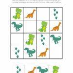 Dinosaur Sudoku Puzzles {Free Printables} | Sudoku | Sudoku Puzzles | Sudoku Junior Printable