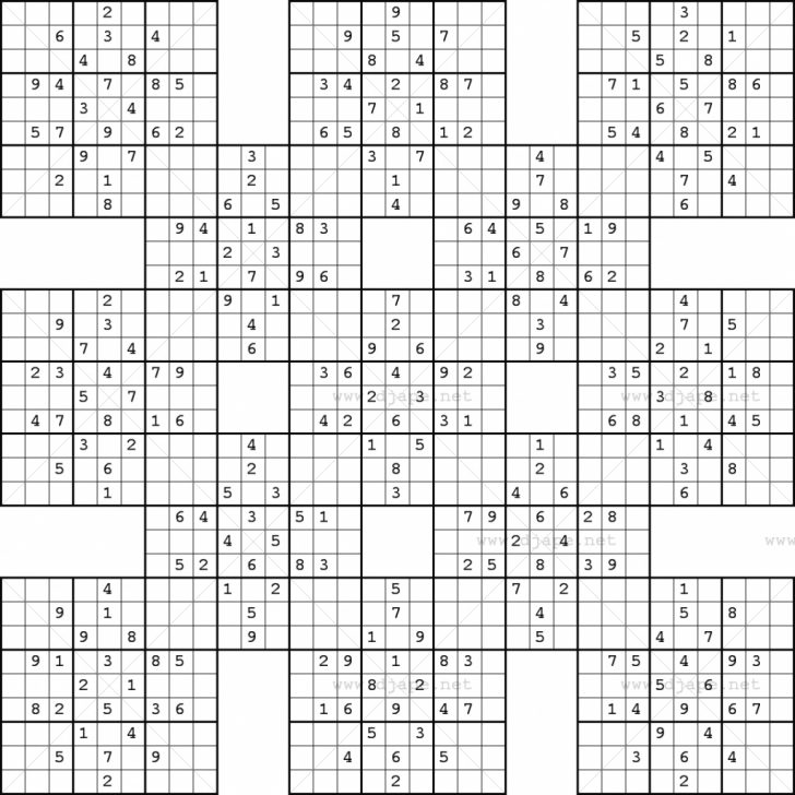 Free Printable Sudoku Kakuro