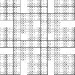 Double Harakiri Sudoku X | Printable Samurai Sudoku Hard