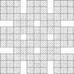 Double Harakiri Sudoku X | Printable Samurai Sudoku X