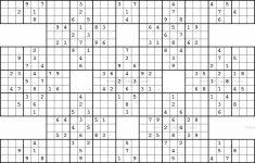 Printable Sudoku Variations