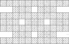 Printable Sudoku With X