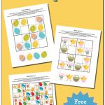 Easter Sudoku {Free Printables}   Gift Of Curiosity | Free Printable Thanksgiving Sudoku