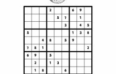 9 X 9 Sudoku Printable