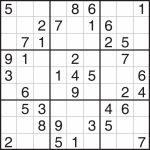 Easy Sudoku Printable   Canas.bergdorfbib.co | Sudoku Printable With Pictures
