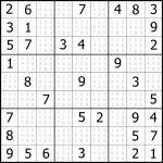 Easy Sudoku Printable | Kids Activities | 1 Sudoku Printable