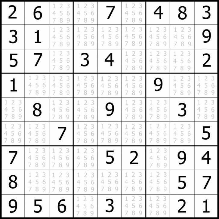 4 Printable Sudoku