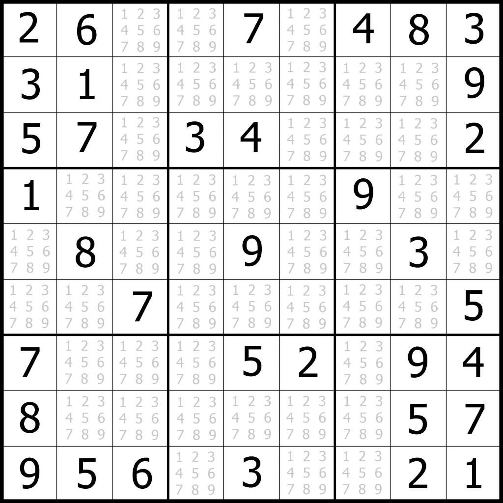 Easy Sudoku Printable | Kids Activities | Free Printable Sudoku 2 Per Page