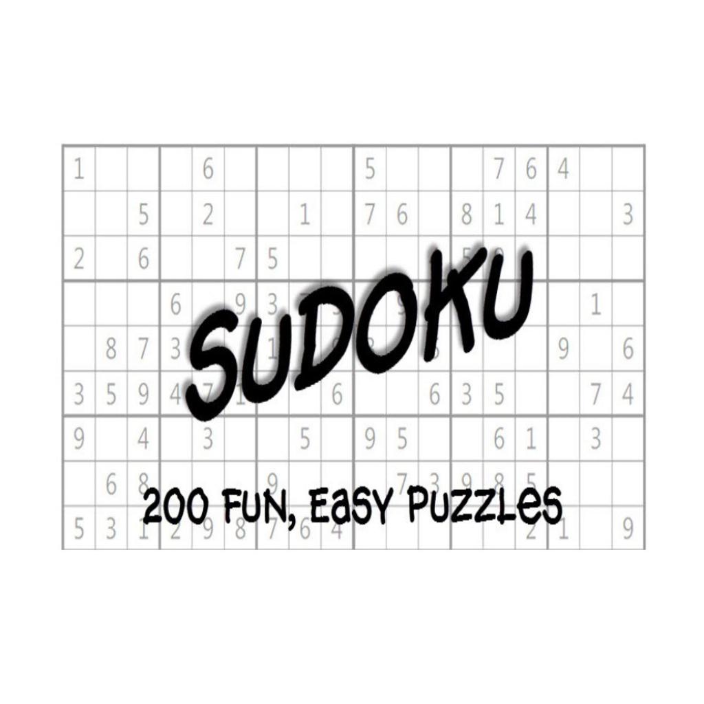 Easy Sudoku Puzzles 200 Printable – Mayda Mart | Printable Sudoku Books Pdf