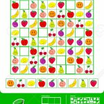 Educational Easy Colorful Sudoku Puzzle Grid With Nine Different | Printable Sudoku For Kindergarten