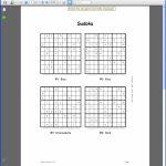 Example Booklet | Printable Sudoku Books Pdf