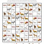 Farm Animals Sudoku Puzzles {Free Printables}   Gift Of Curiosity   Printable Elementary Sudoku Puzzles