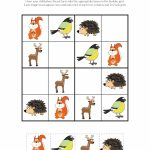 Forest Animals Sudoku {Free Printables}   Gift Of Curiosity | Free Printable Kingdom Sudoku