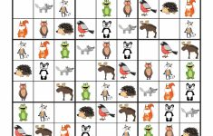 Forest Animals Sudoku {Free Printables} – Gift Of Curiosity | Free Printable Kingdom Sudoku