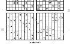 Printable Easy Sudoku Sheets