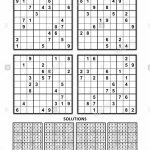 Four Sudoku Puzzles Of Comfortable (Easy, Yet Not Very Easy) Level | Level 2 Sudoku Printable