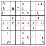 Free Alphadoku Puzzles | Printable Sudoku Easy #8