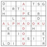 Free Alphadoku Puzzles | Printable Sudoku Letters And Numbers