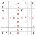 Free Alphadoku Puzzles | Printable Sudoku Puzzles Easy #4