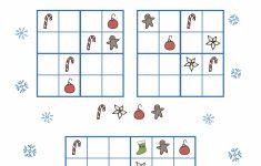 Free Christmas Printables – Sudoku ⋆ Mama Geek | Printable Christmas Sudoku Puzzles