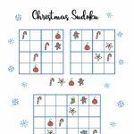 Free Christmas Printables   Sudoku ⋆ Mama Geek | Printable Sudoku Christmas