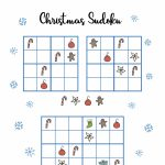 Free Christmas Printables   Sudoku ⋆ Mama Geek | Sudoku Junior Printable