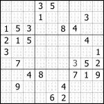 Free Easy Sudoku Puzzle #04 | Sudoku Puzzler | Easy Sudoku Printable 2 Per Page