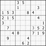 Free Easy Sudoku Puzzle #04 | Sudoku Puzzler | Free Printable Sudoku- 8 Per Page