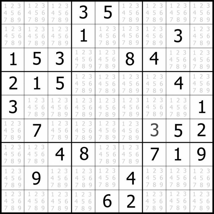 Printable Sudoku Easy Pdf