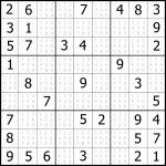 Free Easy Sudoku Puzzle #05 | Sudoku Puzzler | Printable Sudoku Free Puzzles