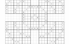 Free Printable Samurai Sudoku Puzzles | Spellen – Sudoku Puzzles | Printable Multi Sudoku Puzzles