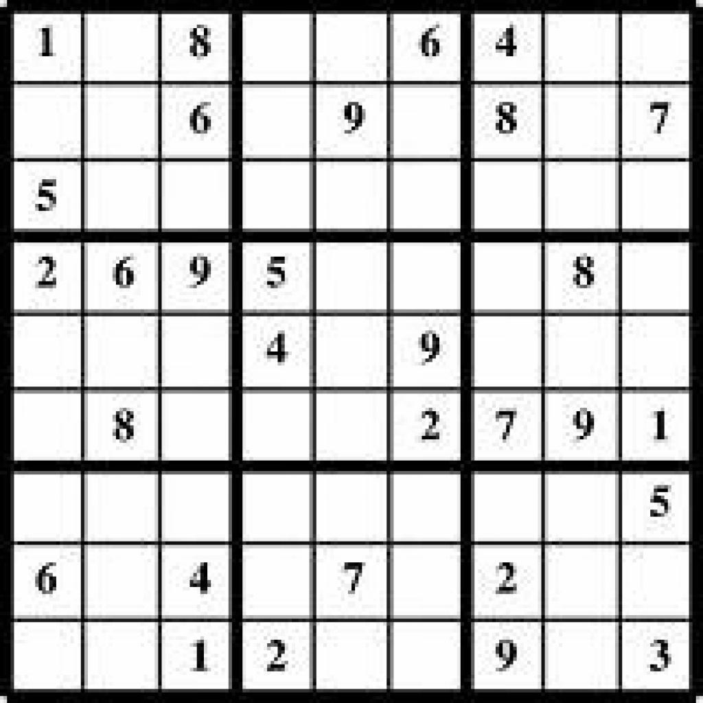 Free Printable Sudoku | Free Printable | Printable Sudoku Livewire