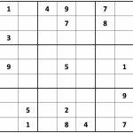 Free Printable Sudoku Pdf – Orek | Printable Sudoku Paper