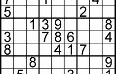 Printable Sudoku 4 To A Page