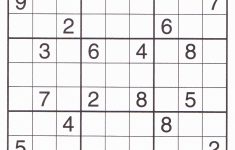 Printable Elementary Sudoku Puzzles