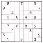 Free Sudoku Printable – Rtrs.online | Printable Sudoku For Kids