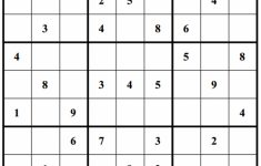Printable Sudoku 4 X 4 Free