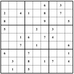 Free Sudoku Puzzles | Enjoy Daily Free Sudoku Puzzles From Walapie | Printable Sudoku Blank Puzzle Form