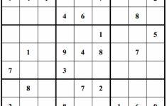 Printable Sudoku Daily