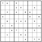 Free Sudoku Puzzles | Enjoy Daily Free Sudoku Puzzles From Walapie | Sudoku Printable Medium 4 Per Page