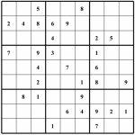 Free Sudoku Puzzles | Enjoy Daily Free Sudoku Puzzles From Walapie | Sudoku Printable Para Imprimir Gratis