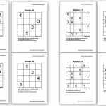 Free Sudoku Puzzles For Kids   Homeschool Den | Printable Sudoku Packet