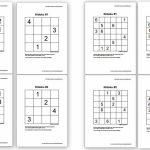 Free Sudoku Puzzles For Kids   Homeschool Den | Sudoku Printable 5Th Grade