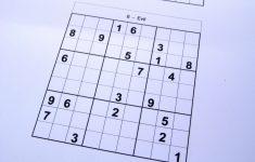 Printable Sudoku Booklet Free